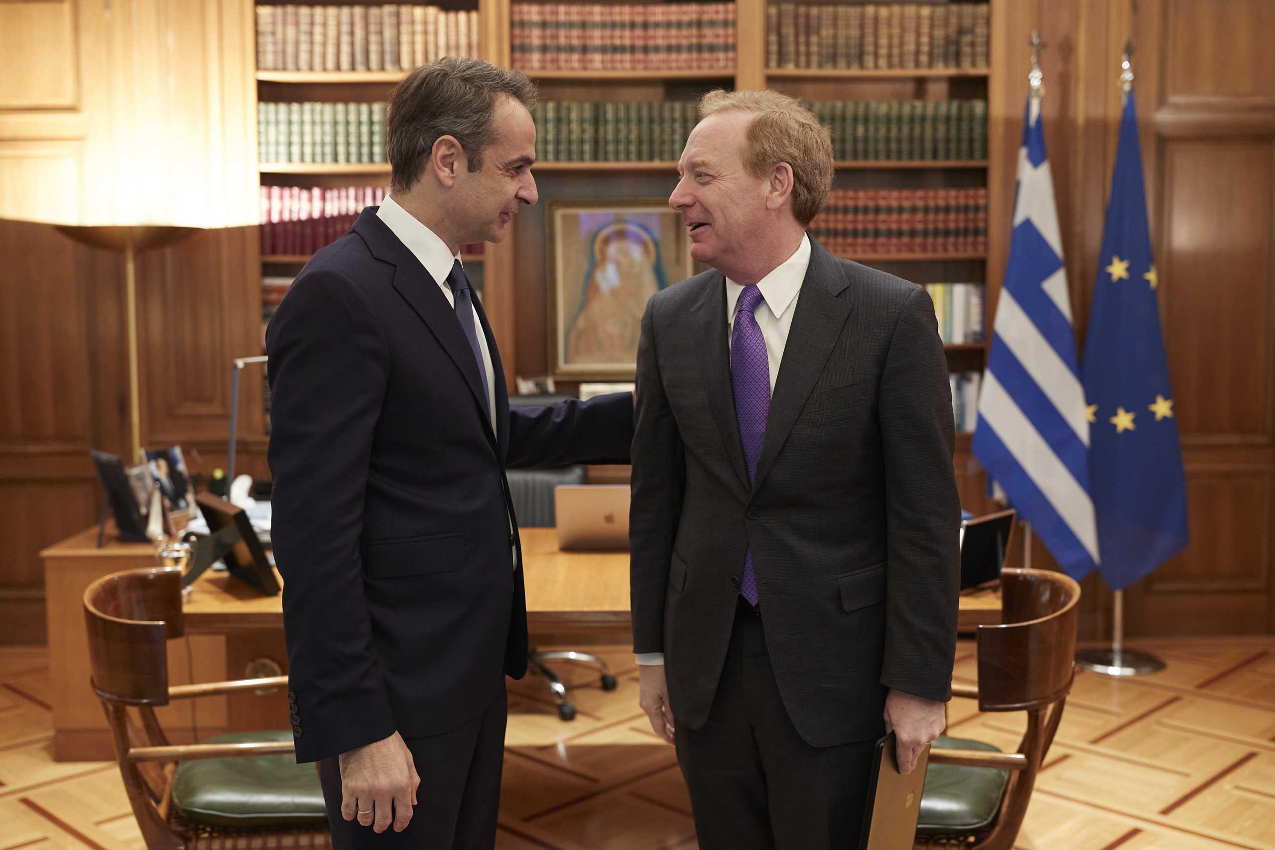 Η Microsoft επενδύει στην Ελλάδα – Η στρατηγική Μητσοτάκη για την επόμενη μέρα της πανδημίας