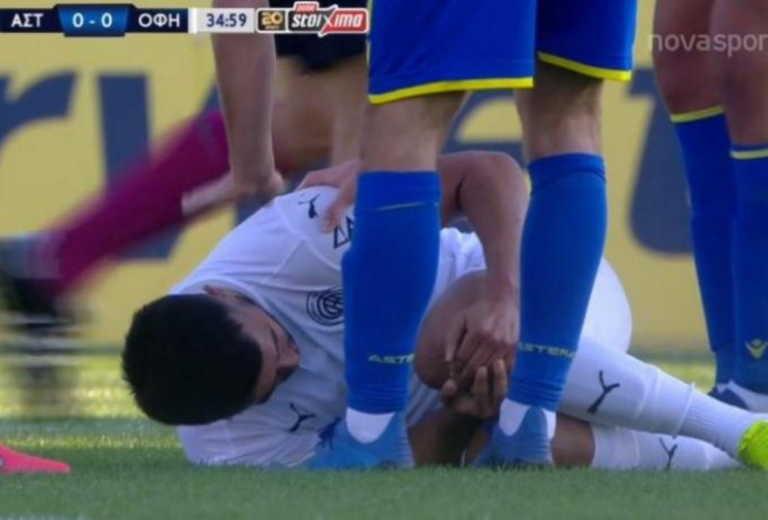 Αστέρας Τρίπολης – ΟΦΗ: Ο σοκαριστικός τραυματισμός του Ναμπί (video)