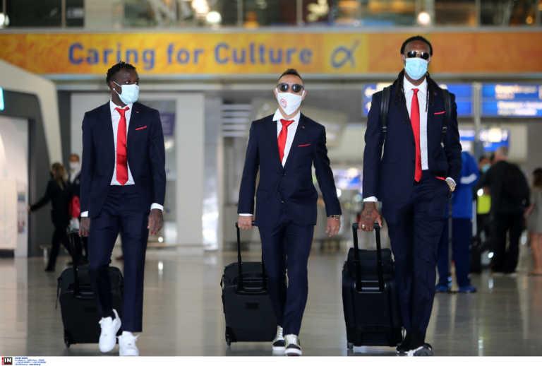«Πέταξε» για Πορτογαλία ο Ολυμπιακός (pics)