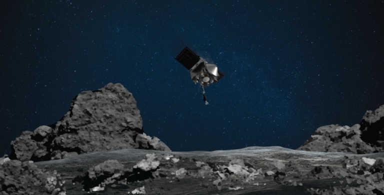 """Το OSIRIS-REx άγγιξε για πρώτη φορά τον αστεροειδή """"Μπενού"""""""