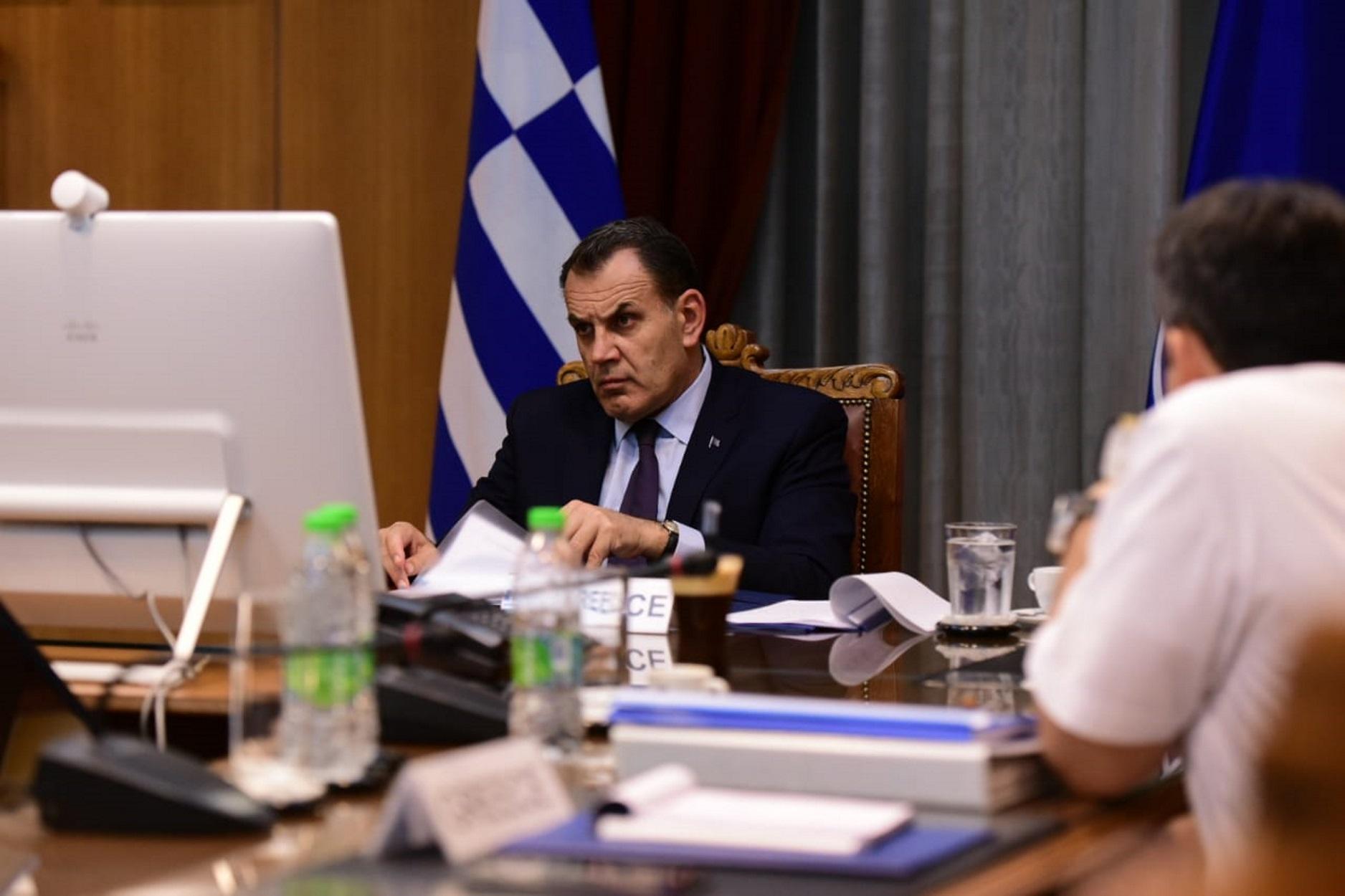 Νίκος Παναγιωτόπουλος σε τηλεδιάσκεψη