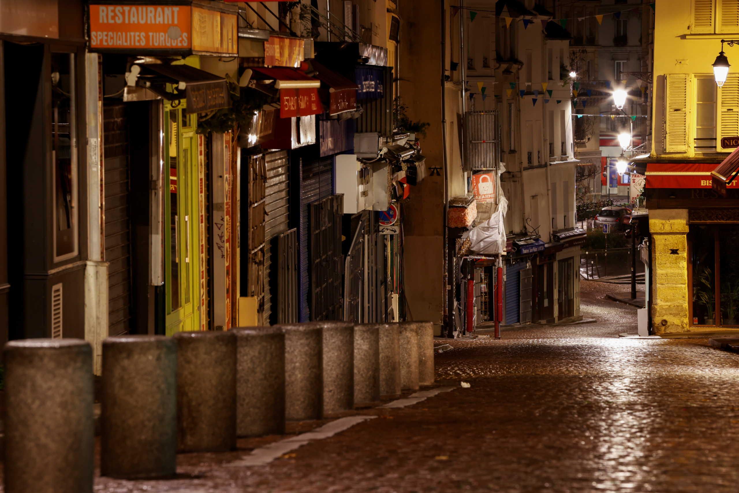 Παρίσι κίνηση lockdown κορονοϊός
