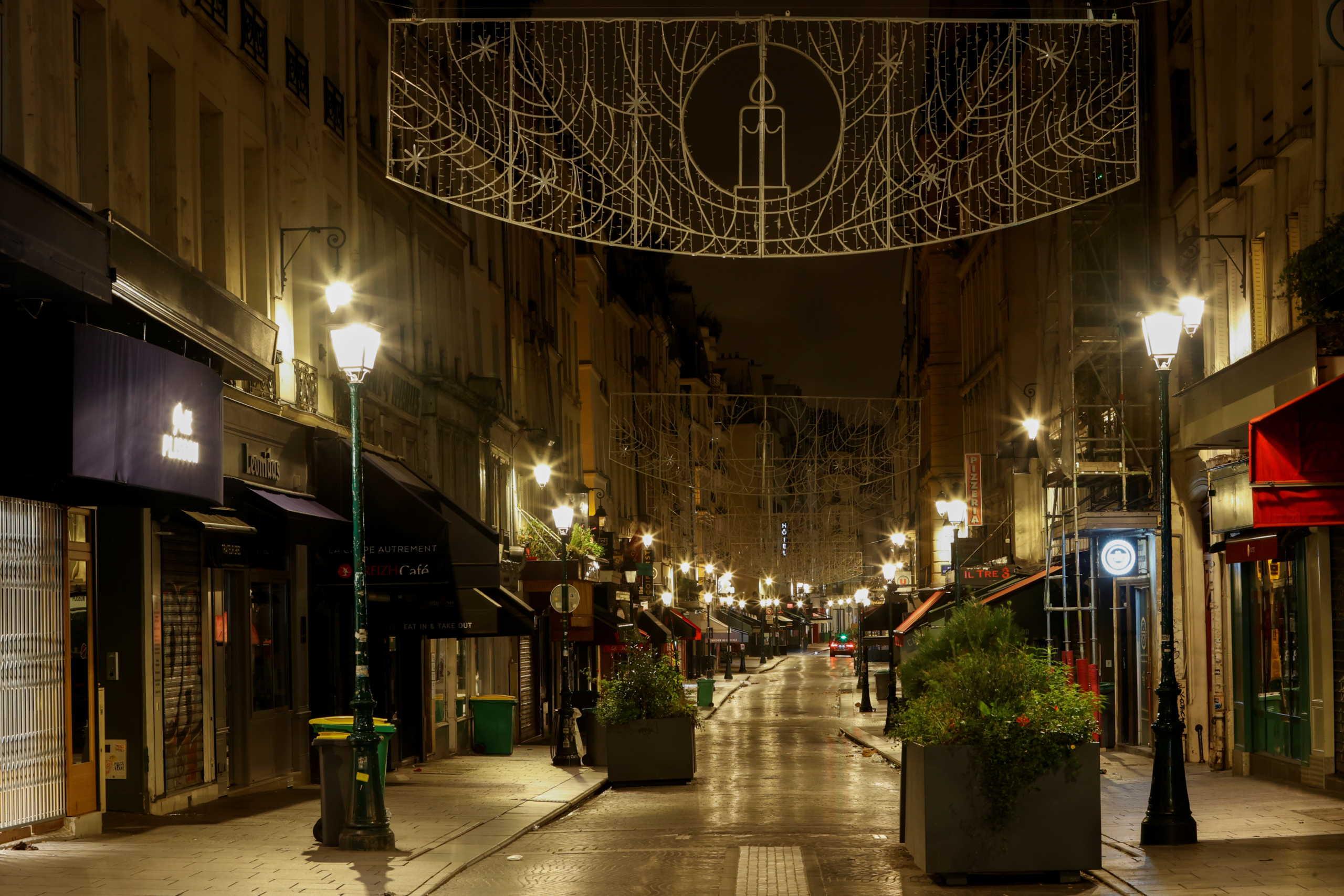 Παρίσι κίνηση lockdown