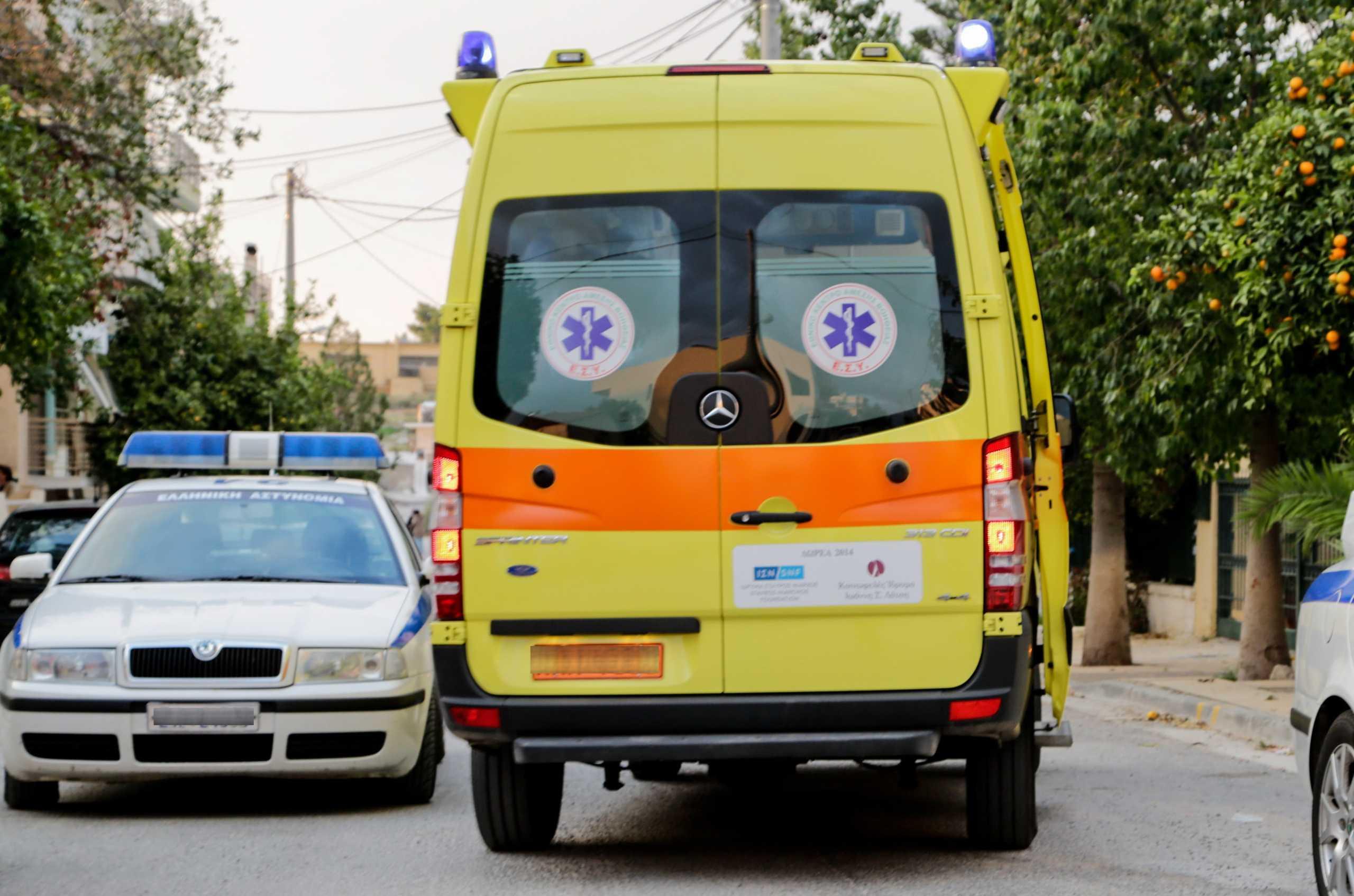Κρήτη: Δραματικός απεγκλωβισμός οδηγού που έπεσε με το φορτηγάκι του από γέφυρα έξι μέτρων!