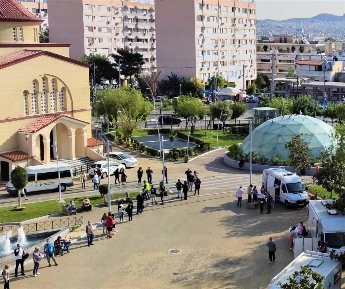 Συναγερμός στο Περιστέρι – 31 κρούσματα κορονοϊού σε ελέγχους του ΕΟΔΥ