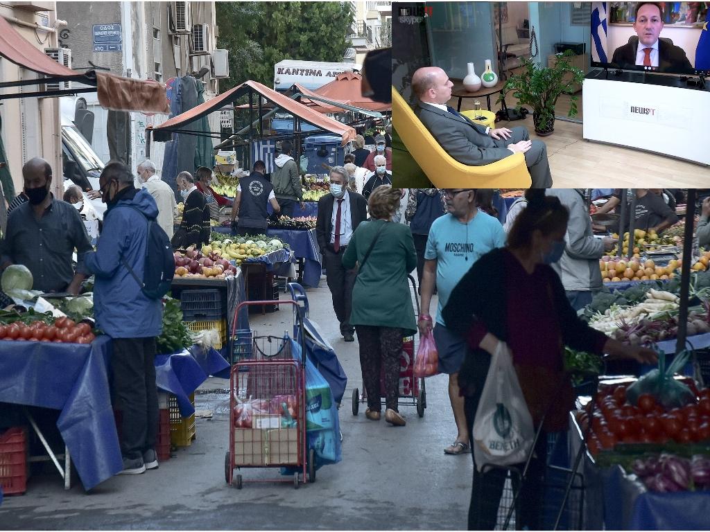 Πέτσας στο newsit.gr: «Είναι πιθανόν τις επόμενες ημέρες να περάσουμε τα 1.000 κρούσματα κορονοϊού»