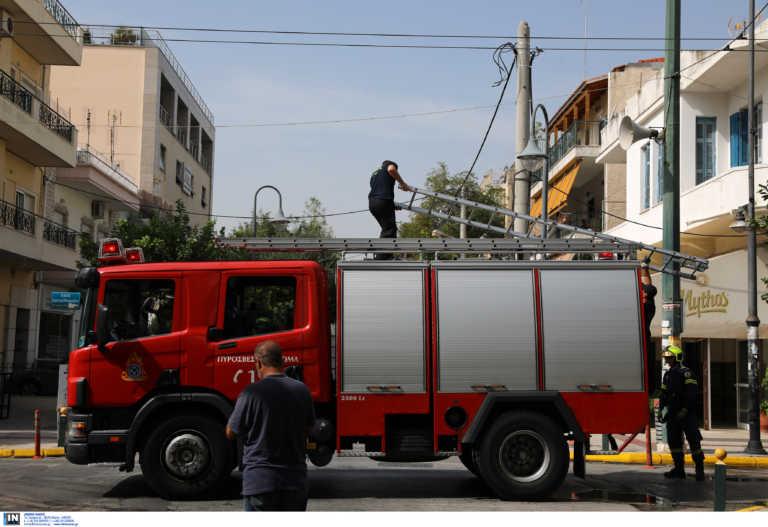 Θεσσαλονίκη: Φωτιά σε ψητοπωλείο – Εκκενώθηκε σχολείο