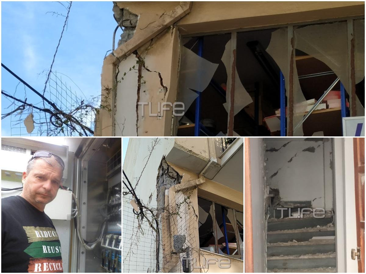 """Σεισμός στη Σάμο – Συγκλονίζει η περιγραφή του επιχειρηματία: """"Το μαγαζί μου καταστράφηκε, σώθηκα από θαύμα"""""""
