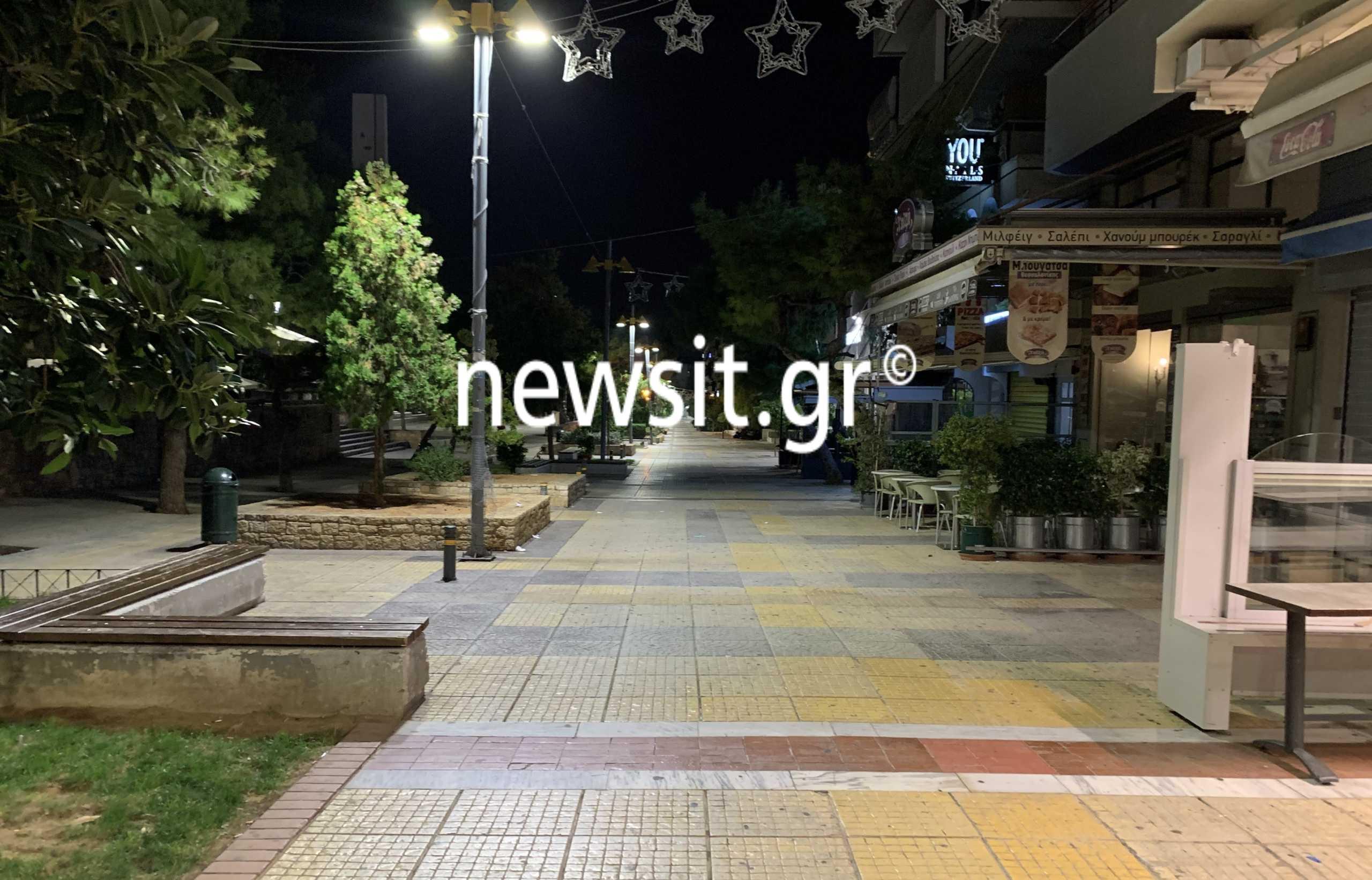 Κορονοϊός: Ξεκίνησε η εφαρμογή των μέτρων – Έρημη πόλη η Αθήνα μετά τις 00.30 τα ξημερώματα