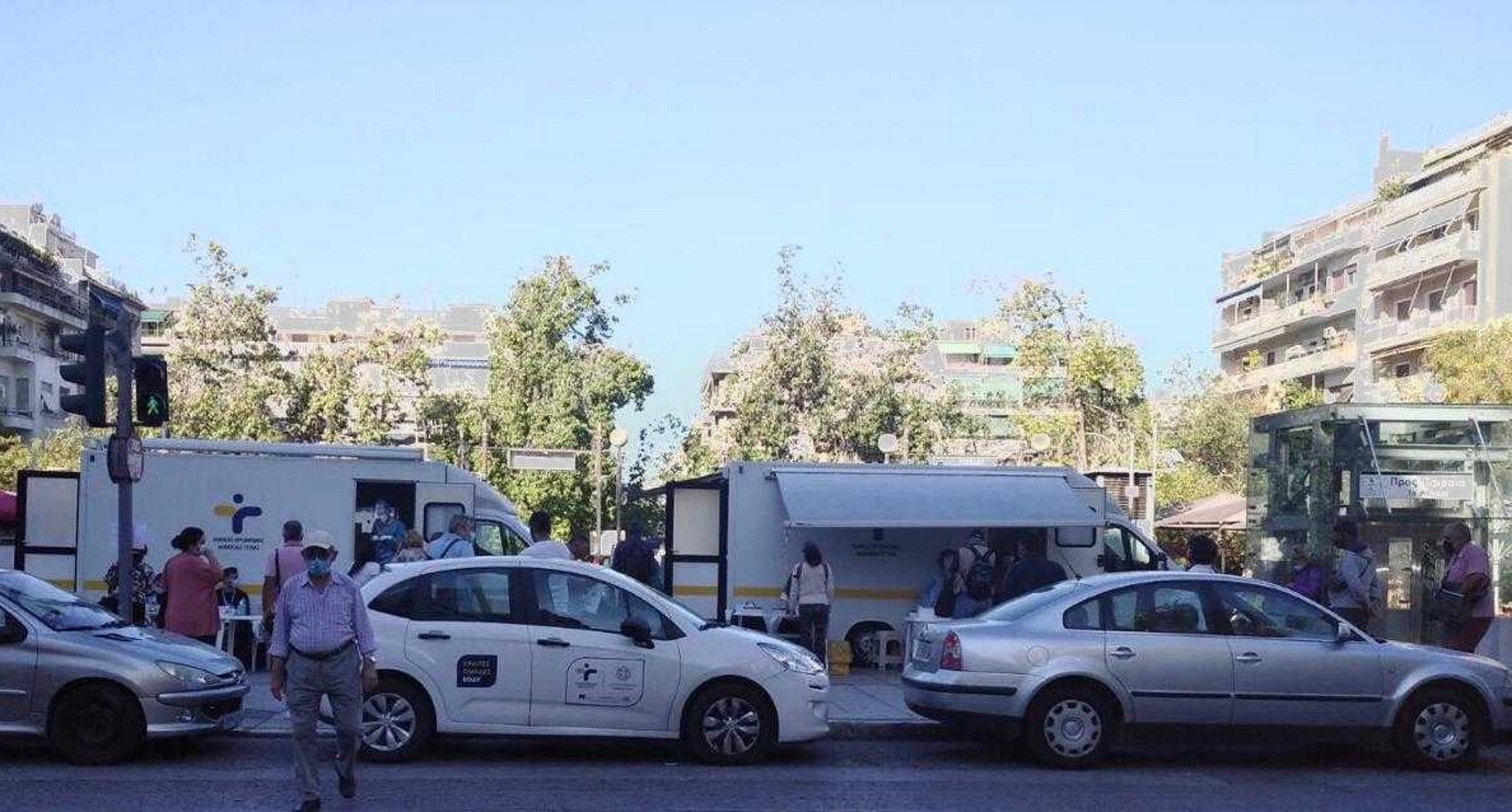 Κορονοϊός: Συναγερμός στην πλατεία Βικτωρίας – 21 κρούσματα μετά από ελέγχους του ΕΟΔΥ