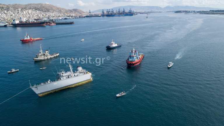 """Σύλληψη του πλοιάρχου του εμπορικού πλοίου που χτύπησε το """"Καλλιστώ"""""""