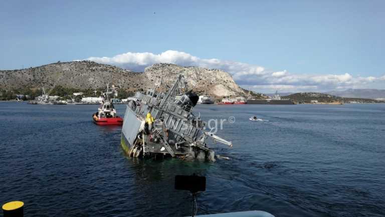 """""""Καλλιστώ"""": Στις 11 Νοεμβρίου απολογείται ο πλοίαρχος του εμπορικού που εμβόλισε το ναρκοθηρευτικό"""