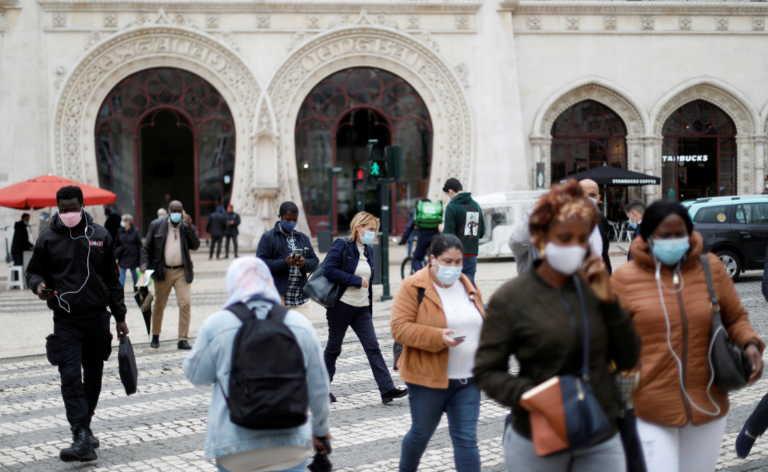 Κορονοϊός: Μάσκες και στους εξωτερικούς χώρους στην Πορτογαλία