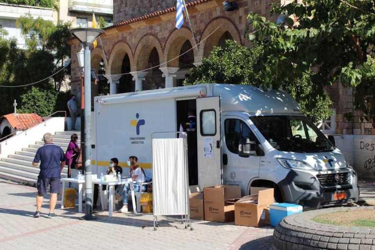 Κορονοϊός: Έλεγχοι του ΕΟΔΥ στον Άγιο Ιωάννη – 15 κρούσματα μετά από 658 rapid tert