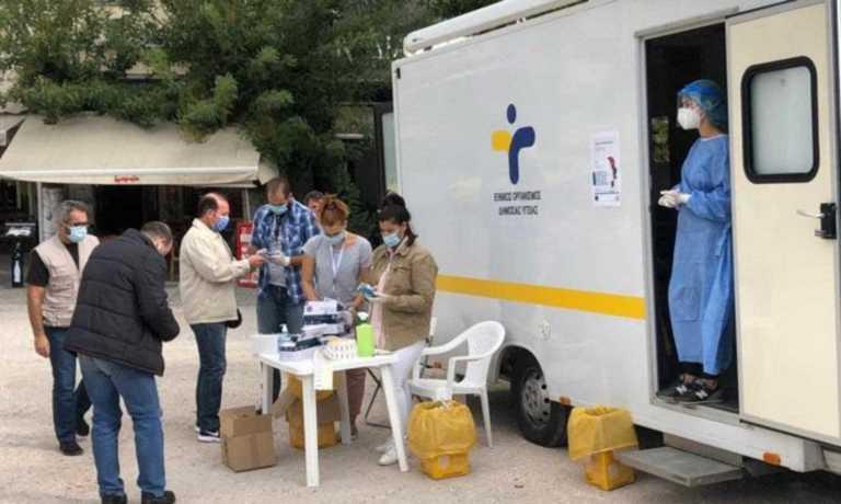 Κορονοϊός: Rapid test του ΕΟΔΥ σε Θησείο και Ιωάννινα – Πόσα βρέθηκαν θετικά