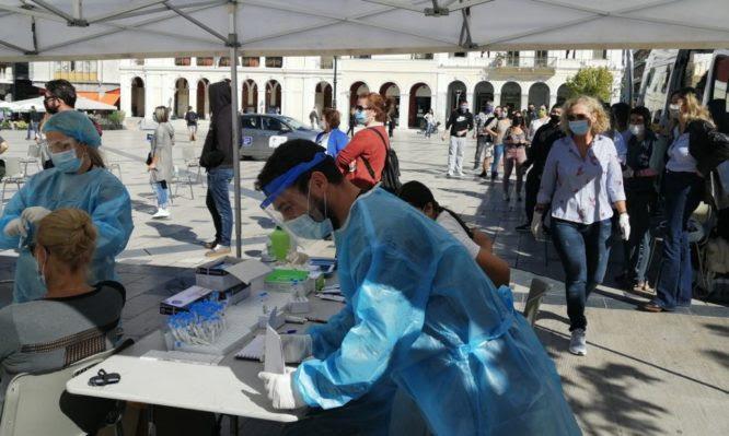 Κορονοϊός: Τι έδειξαν τα rapid test του ΕΟΔΥ στην Πάτρα