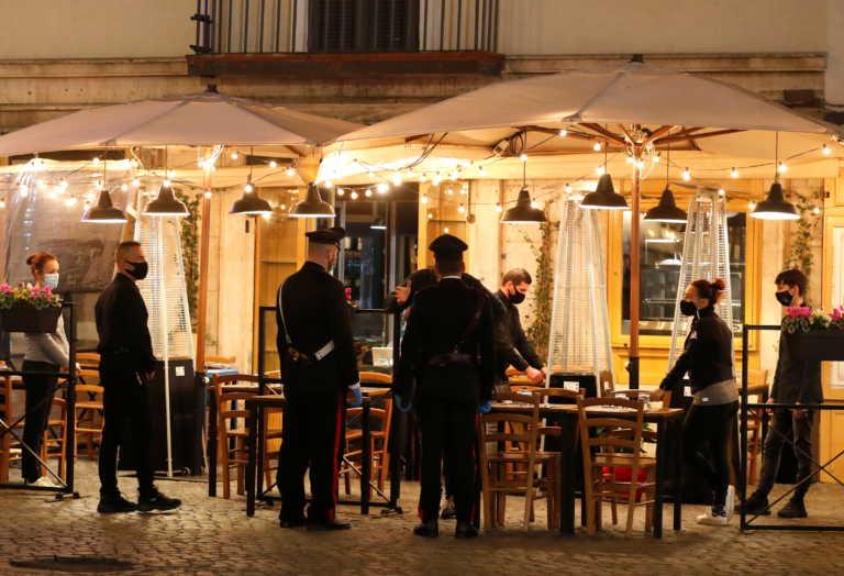 Ιταλία: Απαγόρευση κυκλοφορίας το βράδυ και στη Ρώμη