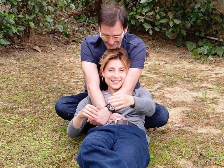 Ευδοκία Ρουμελιώτη: Mας έκανε να λιώσουμε με την κοινή φωτογραφία του συζύγου με τον γιο της