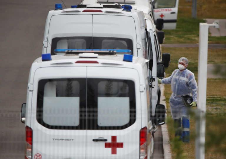 Ρεκόρ κρουσμάτων και νεκρών στη Ρωσία – Σε «κόκκινο» συναγερμό η Μόσχα