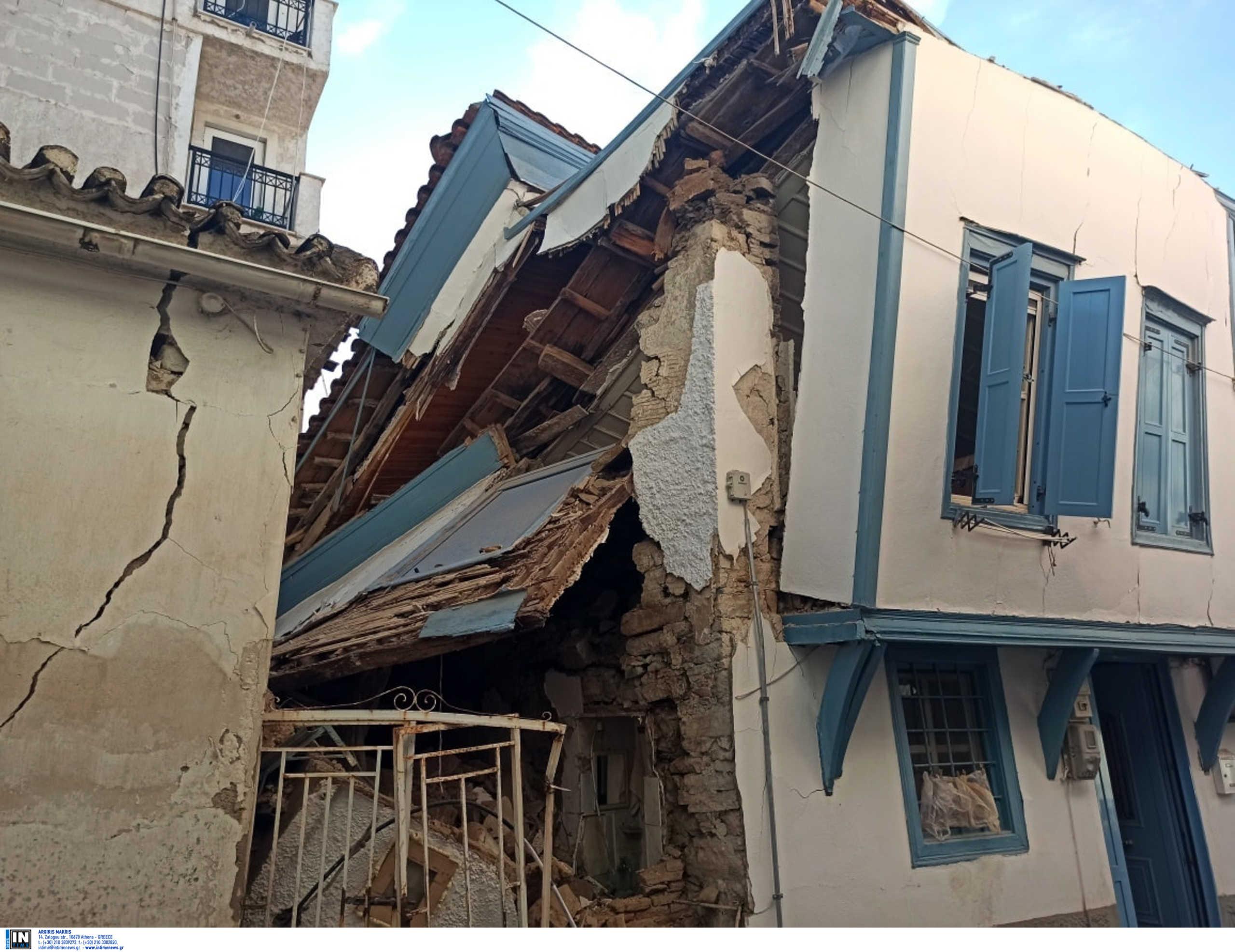 Σάμος: 300 κτίρια έχουν κριθεί μη κατοικήσιμα μέχρι στιγμής