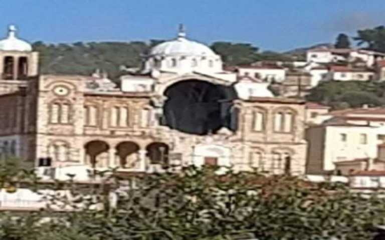 Σεισμός 6,7 ρίχτερ στην Σάμο – Κατέρρευσε εκκλησία – Φόβοι ακόμα και για τσουνάμι