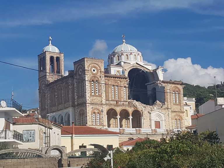 Σεισμός 6,7 ρίχτερ στην Σάμο – Κατέρρευσε εκκλησία – Τουλάχιστον 4 τραυματίες