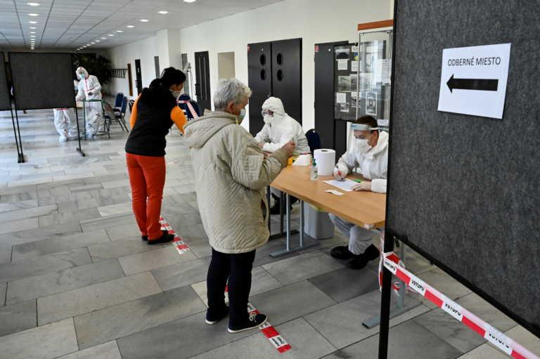 Κορονοϊός: Ρεκόρ κρουσμάτων και στη Σλοβακία – Πάνω από 2.800 σε ένα 24ωρο