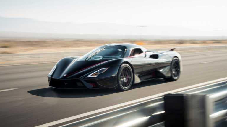 Αυτό είναι το αυτοκίνητο παραγωγής που έσπασε το φράγμα των 500 km/h [vid]