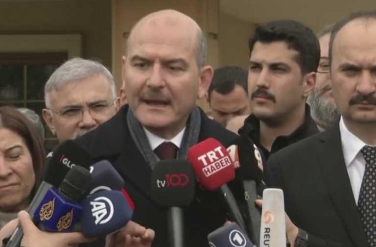 Με κορονοϊό ο υπουργός Εσωτερικών της Τουρκίας