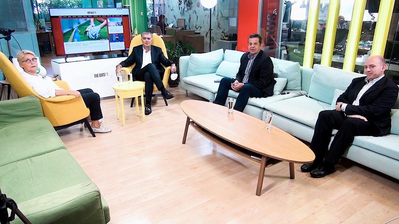 σύσκεψη στο γραφείο του newsit.gr