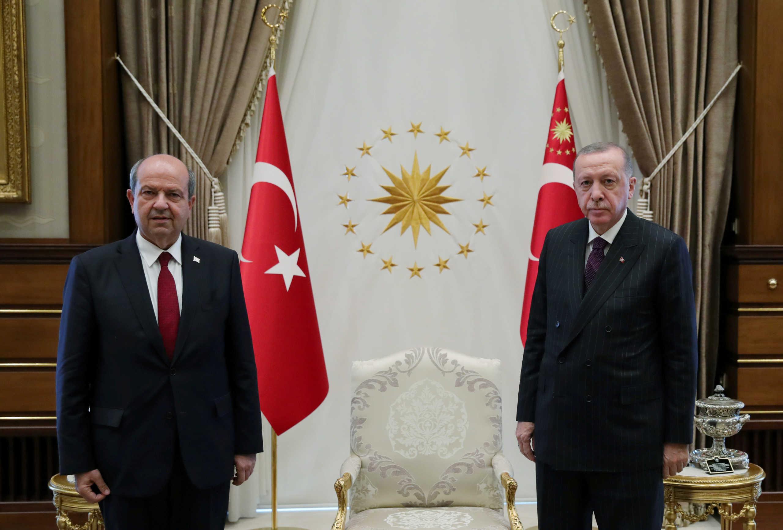 Ταγίπ Ερντογάν και Ερσίν Τατάρ
