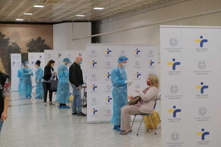 Κορονοϊός: Έλεγχοι του ΕΟΔΥ στο μετρό Συντάγματος - 29 κρούσματα μετά από 3.017 rapid τεστ