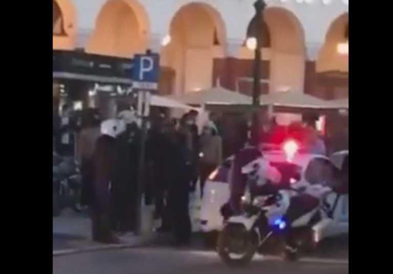 Χαμός για τις μάσκες στη Θεσσαλονίκη! 4 προσαγωγές νεαρών που αρνήθηκαν να τις φορέσουν (video)