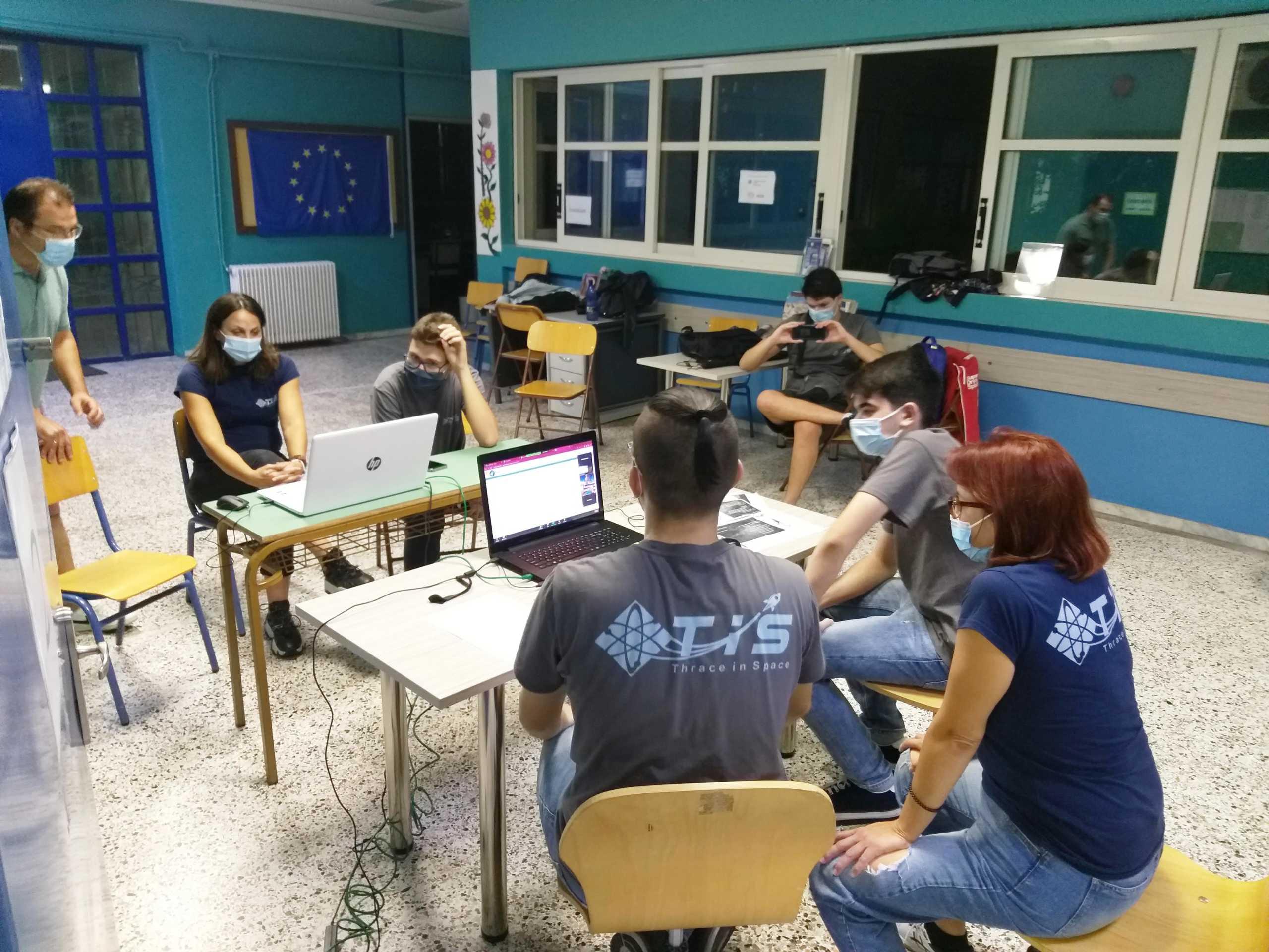 Ξάνθη: Ταξίδι στη στρατόσφαιρα για το  σχολικό πείραμα ομάδας του 2ου Λύκειου