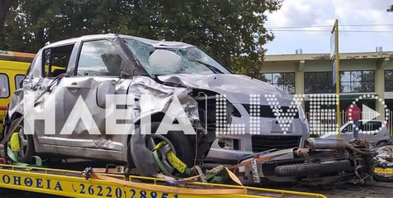 Ηλεία: Σκοτώθηκαν σε τροχαίο ο Θανάσης και η Χριστίνα Καρούσου! Σκληρές εικόνες στο σημείο (Φωτό και Βίντεο)
