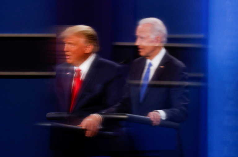 Debate: Ένας άλλος Τραμπ έστω και για λίγο – Οι στιγμές που ξεχώρισαν και οι μάσκες που δεν έπεσαν