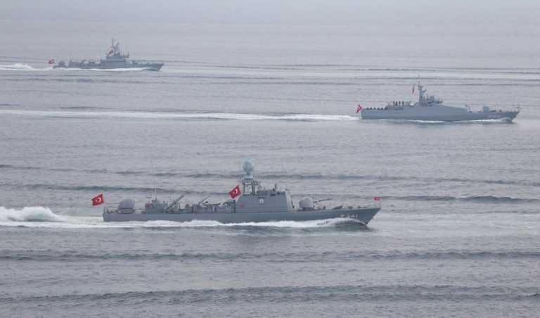Προκλήσεων συνέχεια! Δυνάμεις του τουρκικού στόλου σε Αιγαίο και Αν. Μεσόγειο για ασκήσεις με πυρά