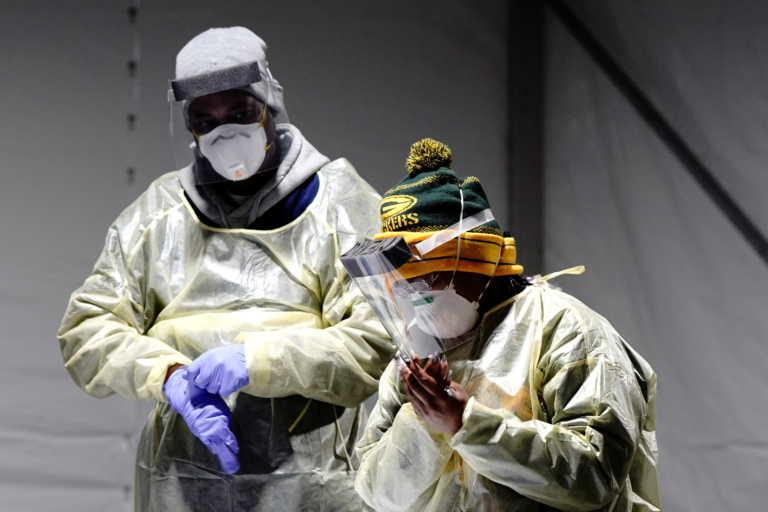 Καλπάζει ο κορονοϊός στις ΗΠΑ: 1.210 νεκροί και 143.333 κρούσματα σε 24 ώρες