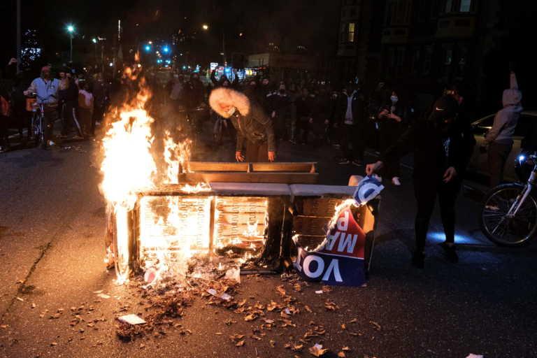 ΗΠΑ: Απαγόρευση κυκλοφορίας στη Φιλαδέλφεια μετά από δυο νύχτες ταραχών