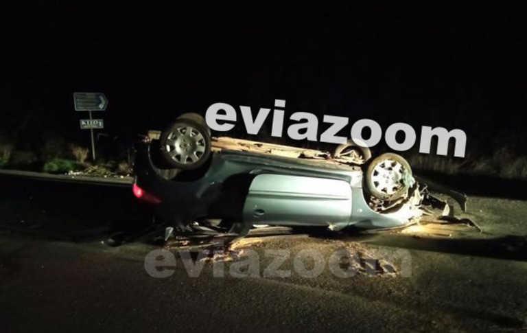 Χαλκίδα: Το αυτοκίνητο του 19χρονου έκανε τούμπες στο δρόμο