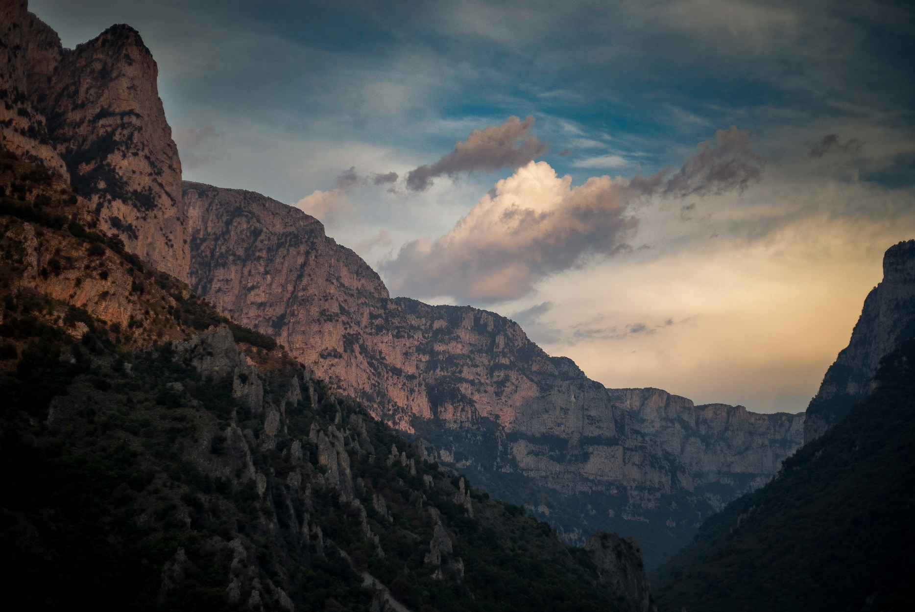 Βήκος βουνά
