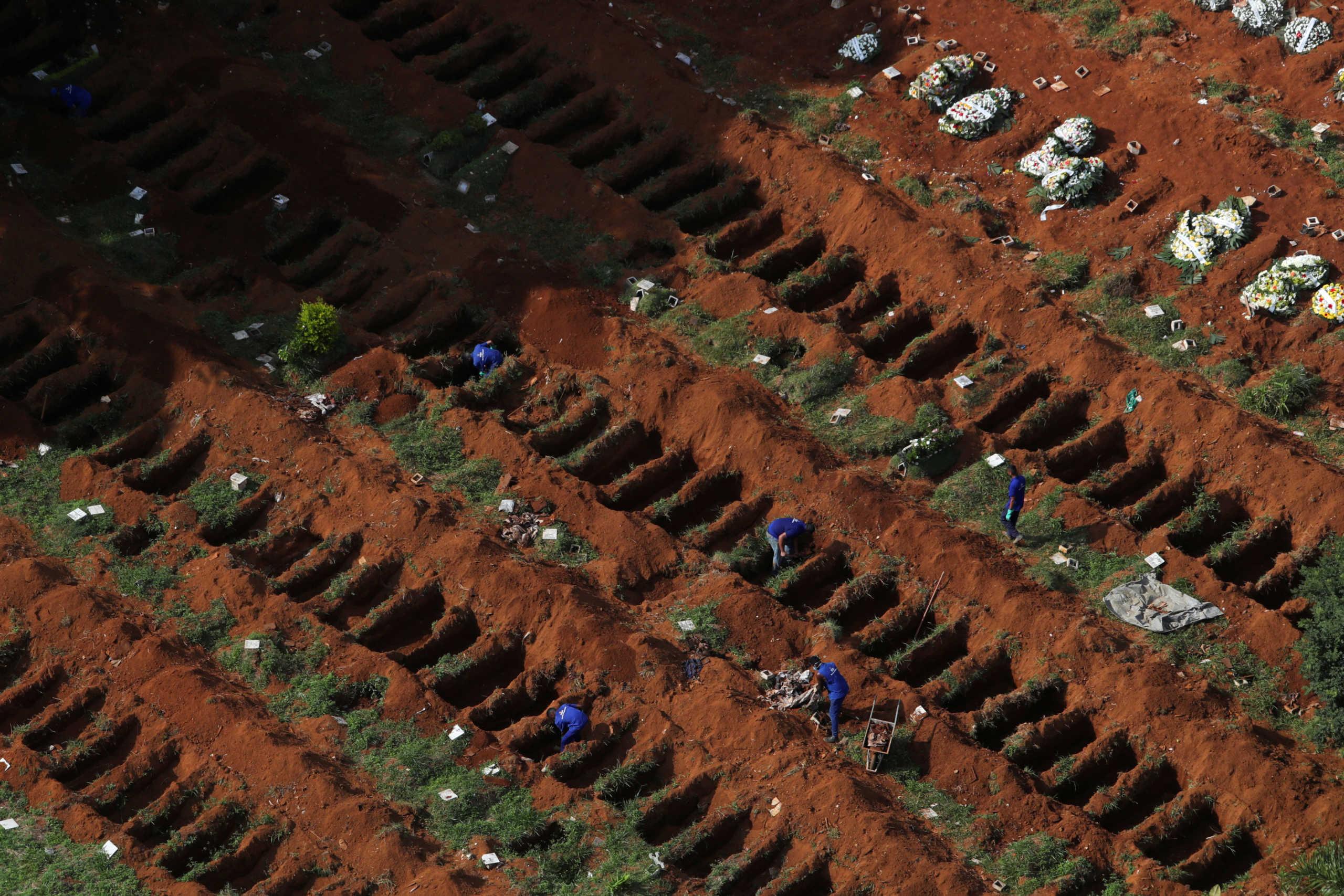 Βραζιλία: Ξεπέρασαν τα 11 εκατ. τα κρούσματα κορονοϊού – Πάνω από 265 χιλιάδες οι θάνατοι