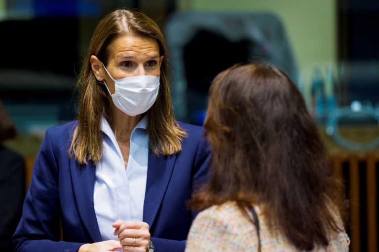 Βέλγιο: Θετική στον κορονοϊό η υπουργός Εξωτερικών Σοφί Βιλμές