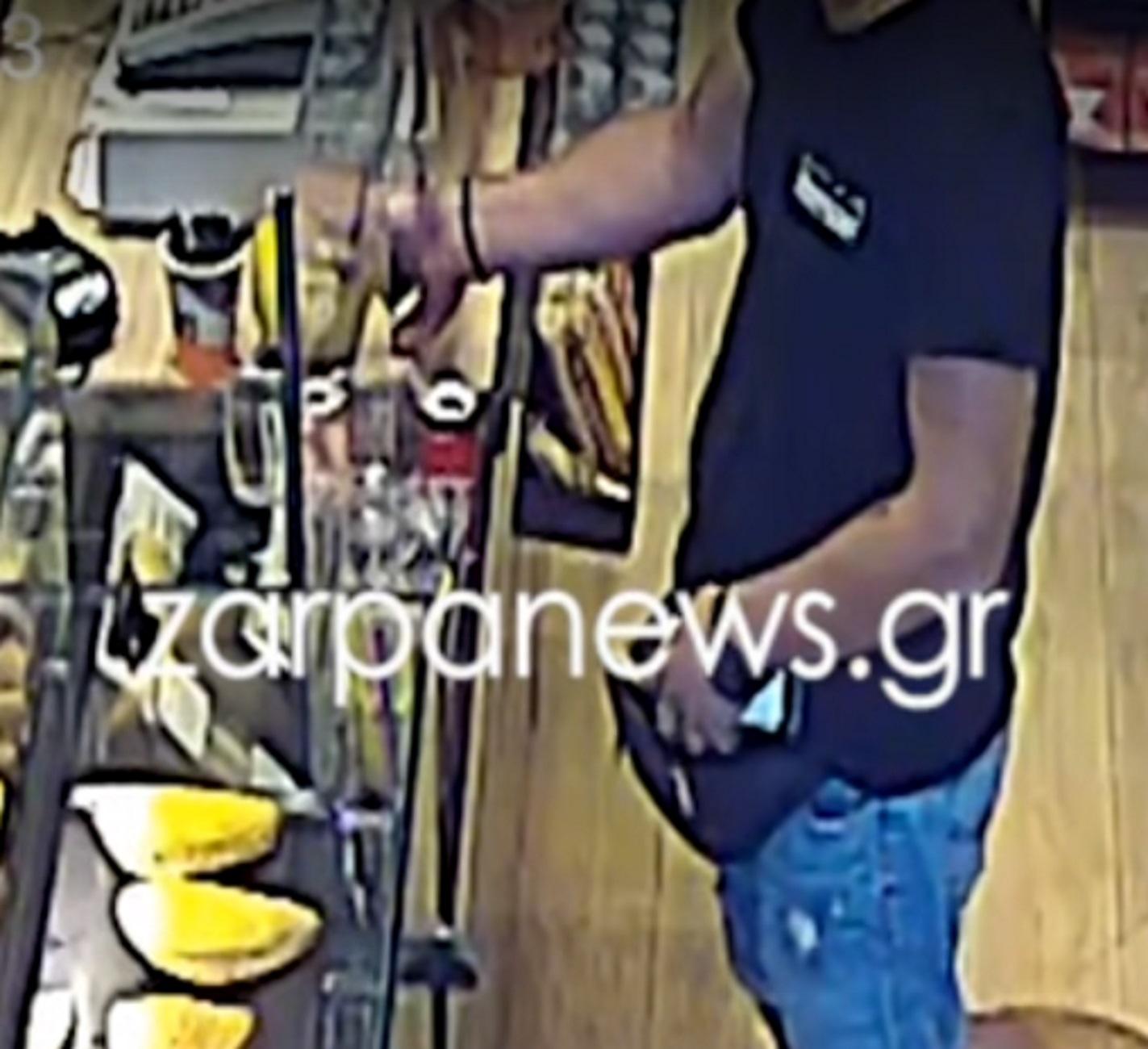 Χανιά: Το… παχουλό γουρουνάκι του άνοιξε την όρεξη! Δείτε το βίντεο ντοκουμέντο μέσα από το κατάστημα