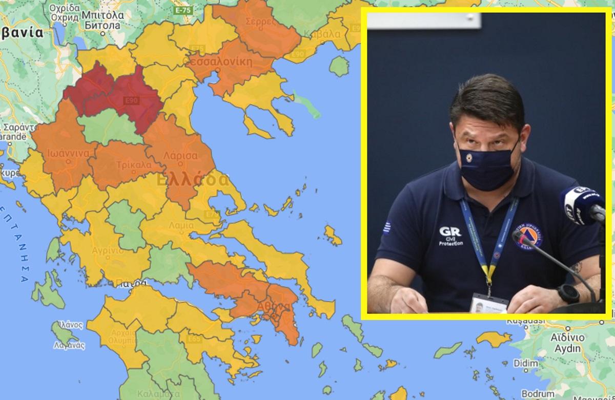 Κορονοϊός: Ιδού τα μέτρα για τις περιοχές που αλλάζουν «χρώμα»! Τι αλλάζει από τα ξημερώματα της Πέμπτης