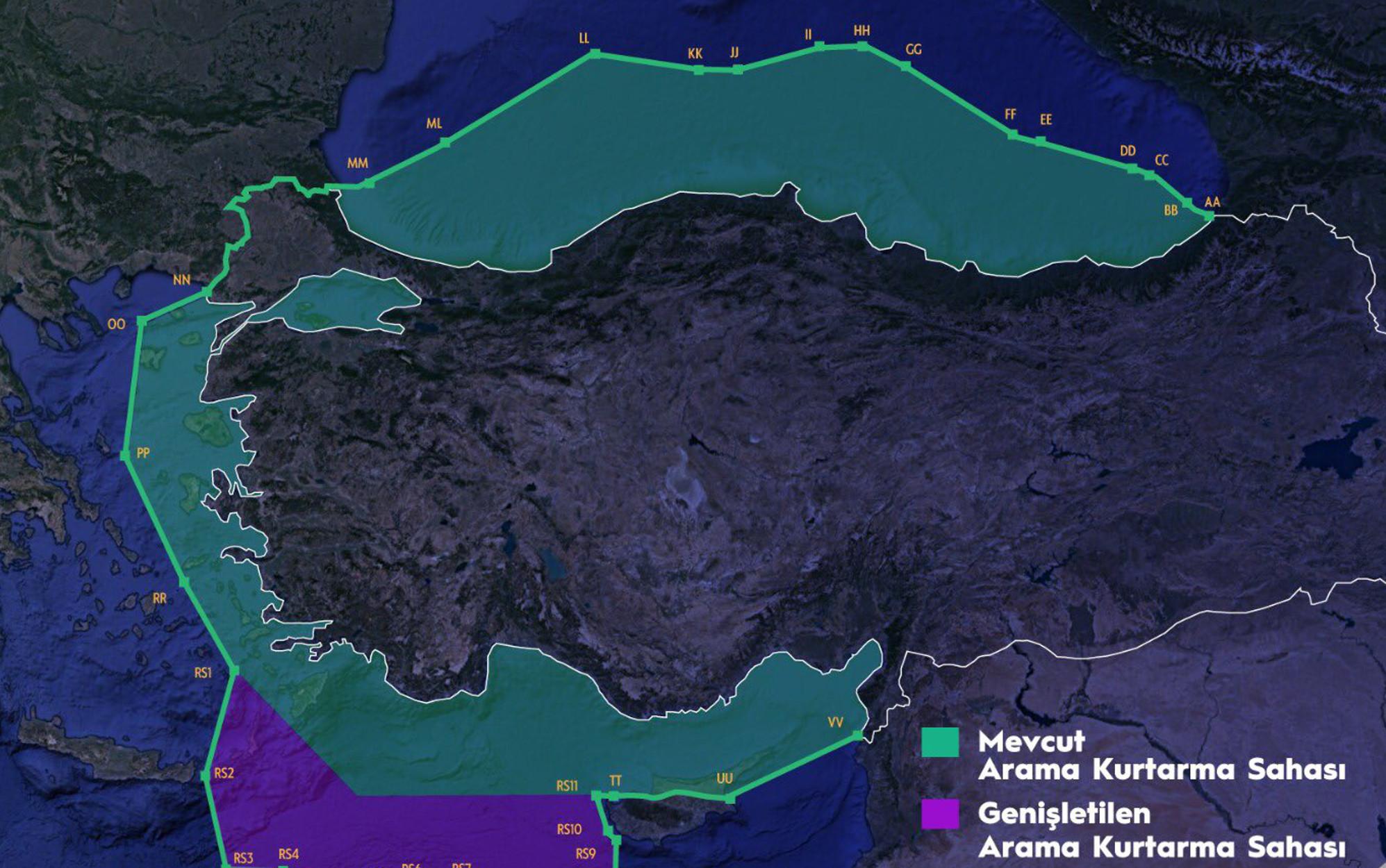 Απίστευτη πρόκληση! Η Τουρκία με νέο χάρτη διεκδικεί το μισό Αιγαίο – ΥΠΕΞ: Βάζουν σε κίνδυνο ανθρώπινες ζωές (pic)