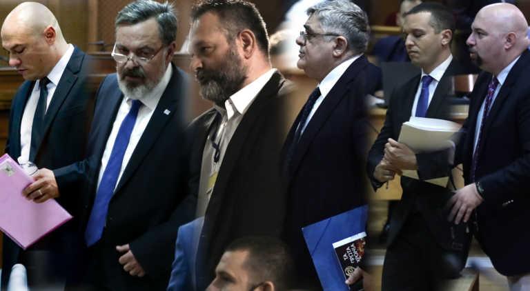 """Στο σκαμνί για μεγαλύτερες ποινές το """"διευθυντήριο"""" της Χρυσής Αυγής – Δεκτή η έφεση του εισαγγελέα Εφετών"""