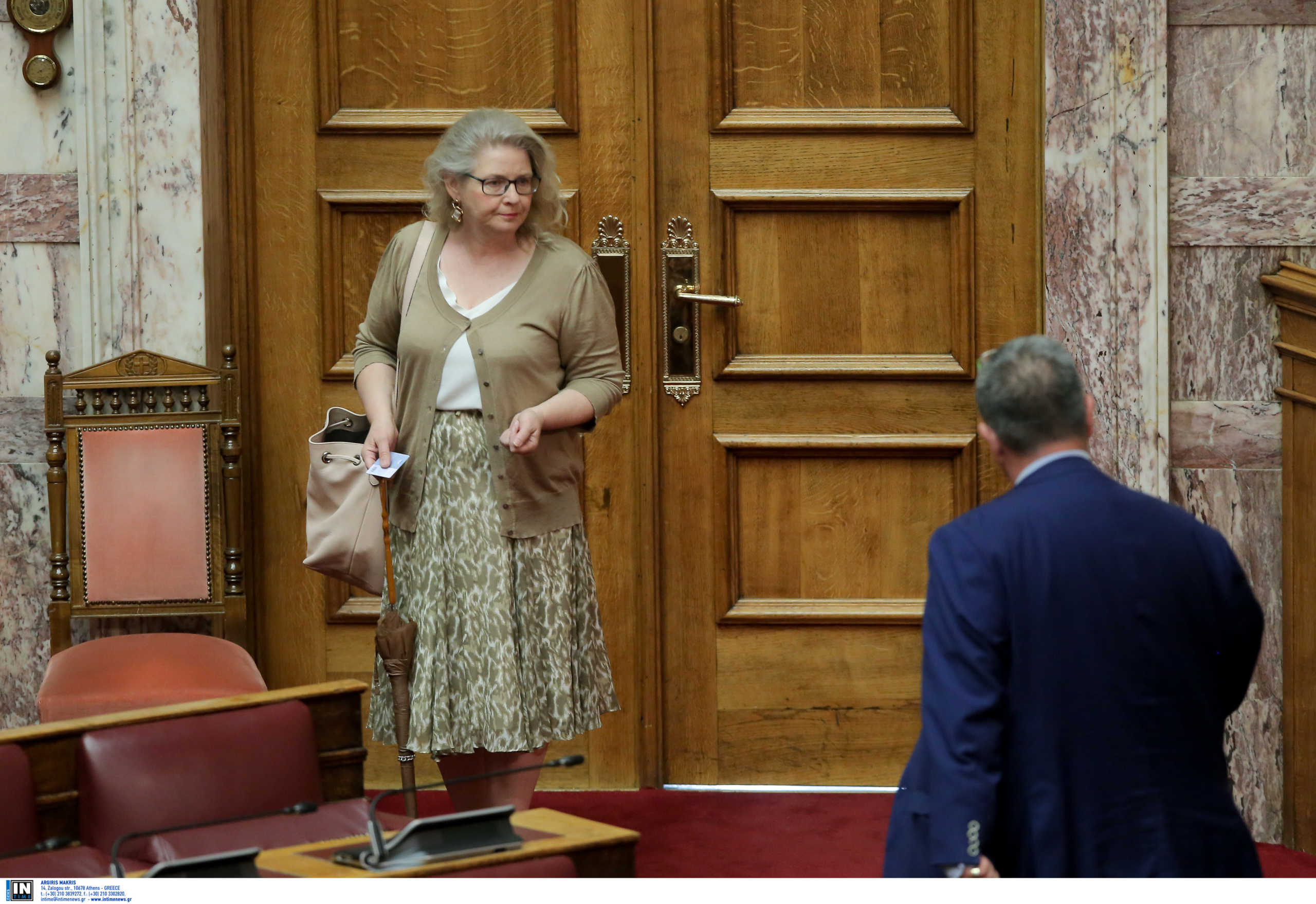 «Μπλόκο» στον διορισμό της Ζαρούλια στη Βουλή με παρέμβαση Μητσοτάκη