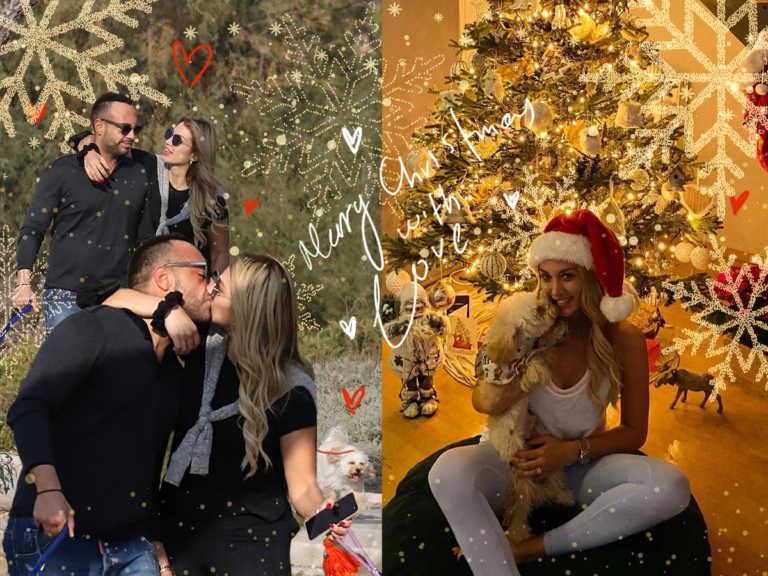 Η Κωνσταντίνα Σπυροπούλου θα περάσει τα πιο… ερωτικά Χριστούγεννα με τον νέο της σύντροφο! Τα καυτά φιλιά τους