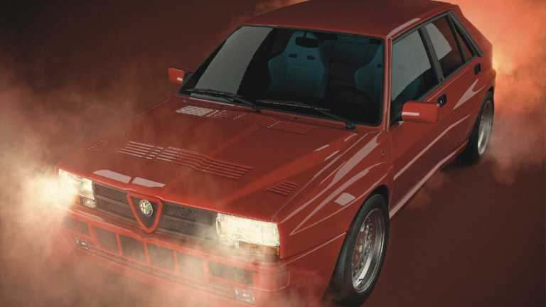 Πώς θα ήταν μια Lancia Delta Integrale με τα σήματα της Alfa Romeo; [pics]